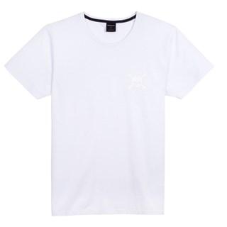 Camiseta Oakley Skull Sport Branca