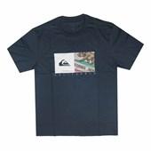 Camiseta Quiksilver California Coast Azul