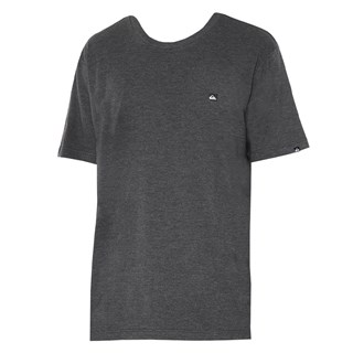 Camiseta Quiksilver Chest Transfer Color Preto Mescla