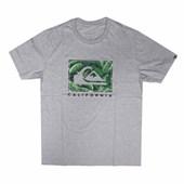 Camiseta Quiksilver City Pacific Cinza