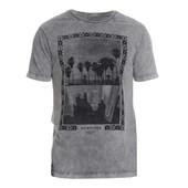 Camiseta Quiksilver Especial Mirror Image Cinza