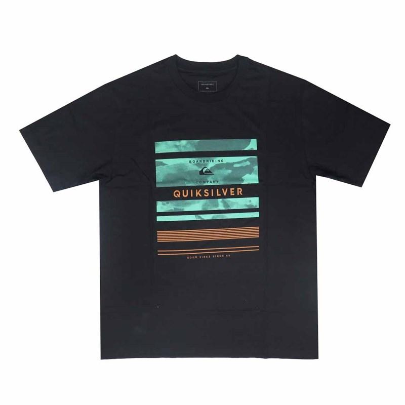 Camiseta Quiksilver Stinger Preta - Compre na Back Wash! b0dfeecc6b