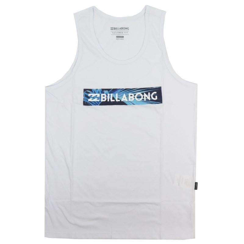 2a66ae7a96 Camiseta Regata Masculina Billabong Unity Branca - Back Wash