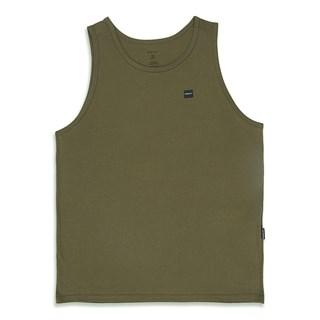 Camiseta Regata Oakley Patch 2.0 Tank Dark Brush