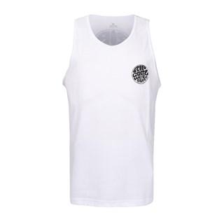 Camiseta Regata Rip Curl Wettie Land Branca