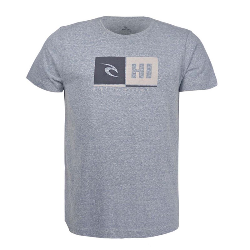 Camiseta Rip Curl Hawaii Azul Plus Size - Back Wash f99d59fb92e