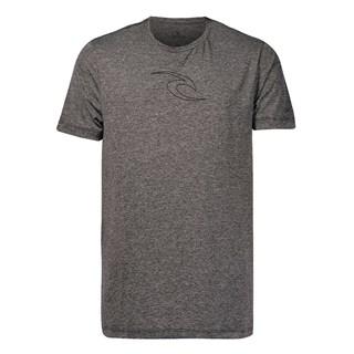 Camiseta Rip Curl Especial Icon Fade Cinza Escuro