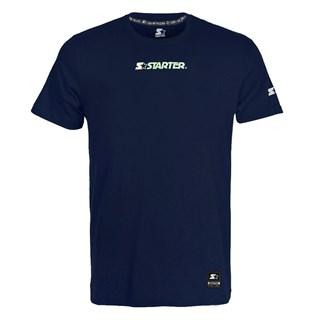 Camiseta Starter Logo Azul Marinho