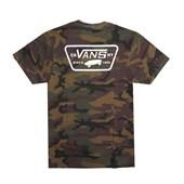 Camiseta Vans Camo White