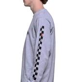 Camiseta Vans Manga Longa SpiderMan Cinza