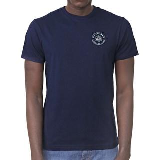 Camiseta Vans Old Skool Logo Azul Escuro
