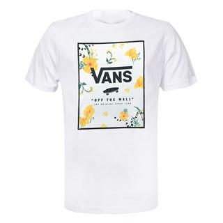 Camiseta Vans Print Box Branca