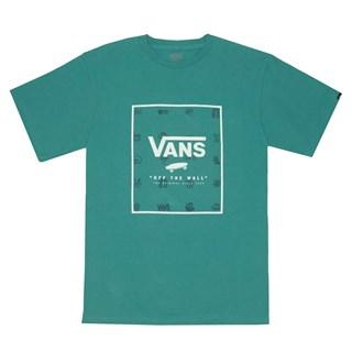Camiseta Vans Print Box Verde