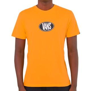 Camiseta Vans Retro Oval SS Laranja