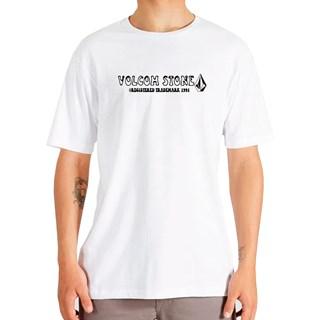 Camiseta Volcom Reggi Branca