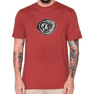 Camiseta Volcom Sick Vermelha