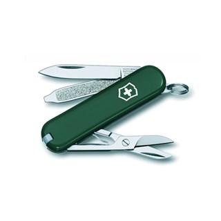 Canivete Classic SD Verde Preto
