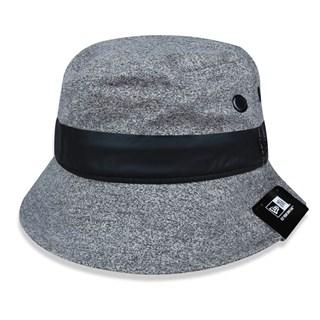 Chapéu Bucket New Era Branded Cinza