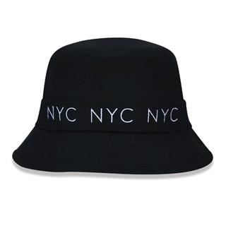 Chapéu Bucket New Era NYC Preto