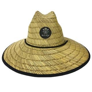 Chapéu de Palha Back Wash Caveira