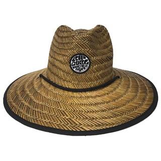 Chapéu de Palha Rip Curl Wetty Straw Escuro