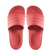 Chinelo Adidas Feminino Adilette Cloudfoam Coral