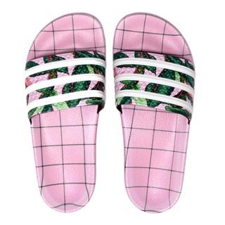 Chinelo Feminino Adidas Farm Adilette Rosa