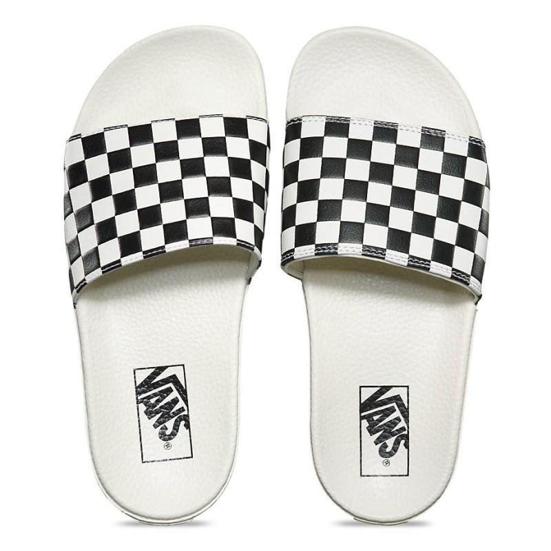 b5fc49236e0 Chinelo Feminino Vans Slide On Xadrez - Back Wash