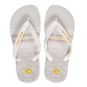 Chinelo Masculino Rip Curl Rapture Lines Branco