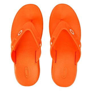 Chinelo Oakley Rest 2.0 Neon Orange