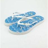 Chinelo Roxy Mimosa Pattern Turk Blue