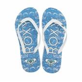 Chinelo Roxy Mimosa Pattern Turk Blue ... 3b7beb62fb
