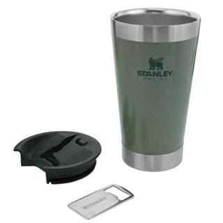Copo Térmico Stanley Com Tampa Verde 473ml