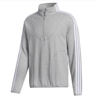 Jaqueta Adidas Terry Cinza