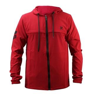 Jaqueta Corta Vento Hurley Vermelha