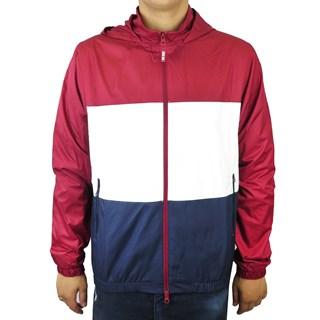 Jaqueta Corta Vento Nike SB Vermelha Azul e Branca