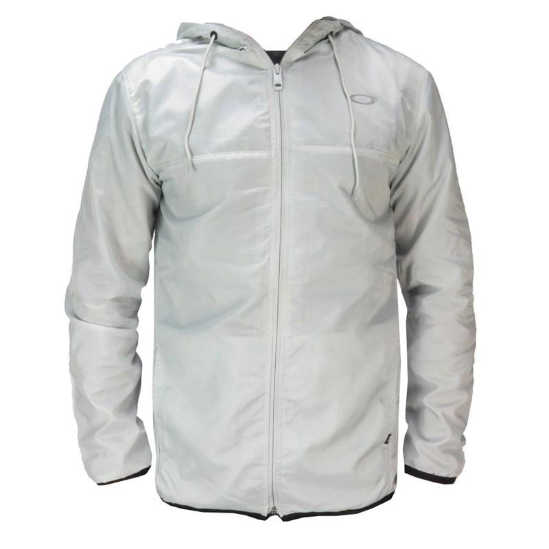 0668d0bcd Compre Jaqueta Corta Vento Oakley Cinza na Back Wash!