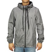 Jaqueta Corta Vento Quiksilver Windbreaker Whole Day Cinza