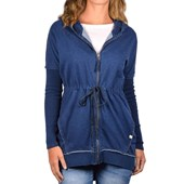 Jaqueta Fem Rip Curl Zip Through Indigo