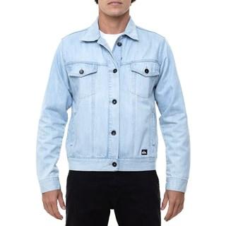 Jaqueta Jeans Quiksilver Rock Azul Claro