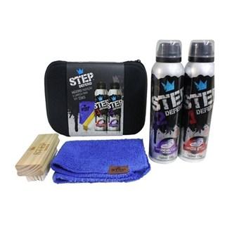 Kit Limpeza e Impermeablização de Tênis Step Defend