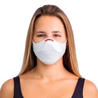 Kit Máscara de Proteção Fiber Knit AIR Branca