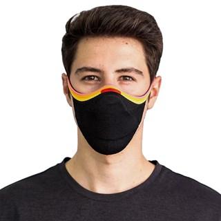 Máscara de Proteção Fiber Knit Preta Pride