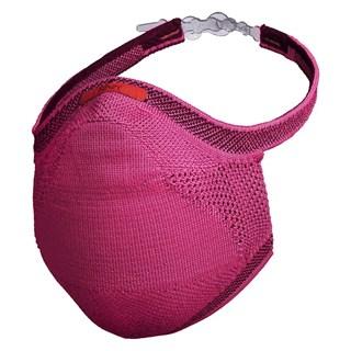 Máscara de Proteção Fiber Knit Sport Rosa Escuro