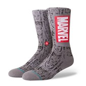 Meia Stance Marvel Icons Cinza
