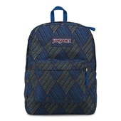 Mochila JanSport Superbreak Blue Streak Tropic Chomp 25L
