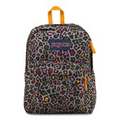 Mochila JanSport Superbreak Grey Rabbit Lucy Leopard 25L