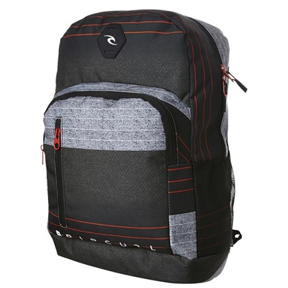 Mochila Rip Curl Charger Ripper Stripe Red