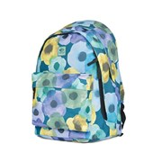 Mochila Rip Curl Double Dome Flower Mix Petrol Blue