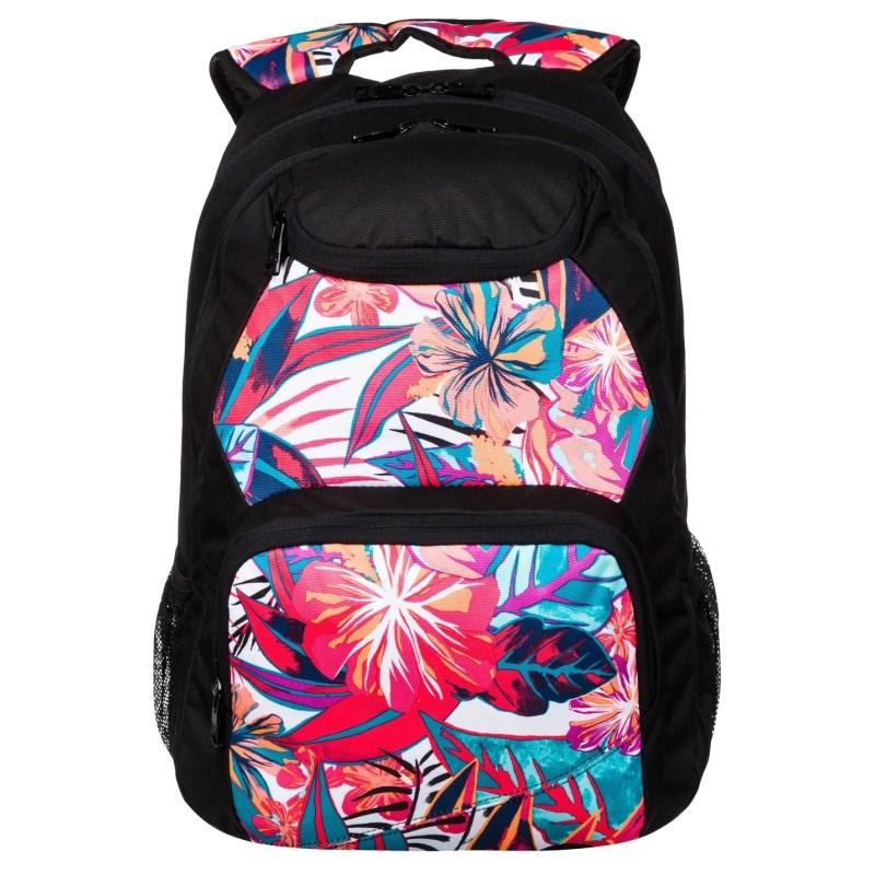 Mochila Roxy Shadow Swell Rosie Posie Floral - Back Wash 90c6532dff3
